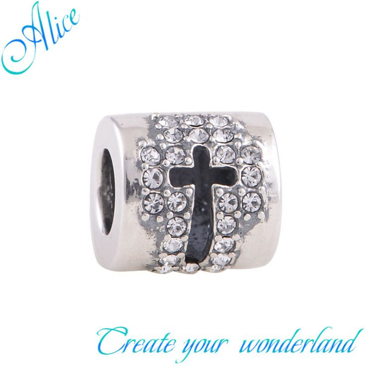 925 серебряный крест шарм бусины приспосабливать европейские бусины браслет серебро 925 первоначально драгоценности из серебра 925 пробы алиса X184