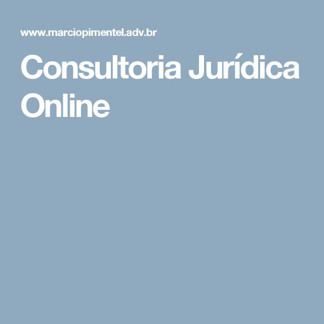 Consultoria Jurídica Online