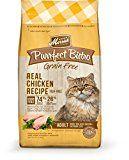 Merrick Purrfect Bistro Grain Free Real Chicken Recipe Dry Cat Food, 12-Pound