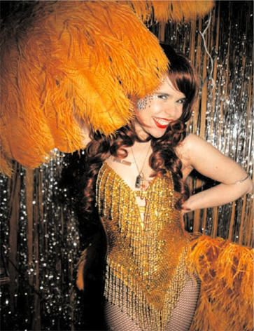 Paloma Faith - Show Girl Adorable!  Yellow & sequin fringe
