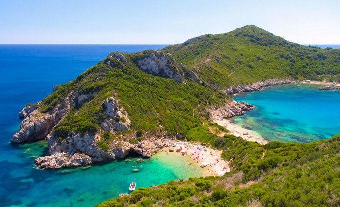 Porto Timoni beach, Corfu Island !!