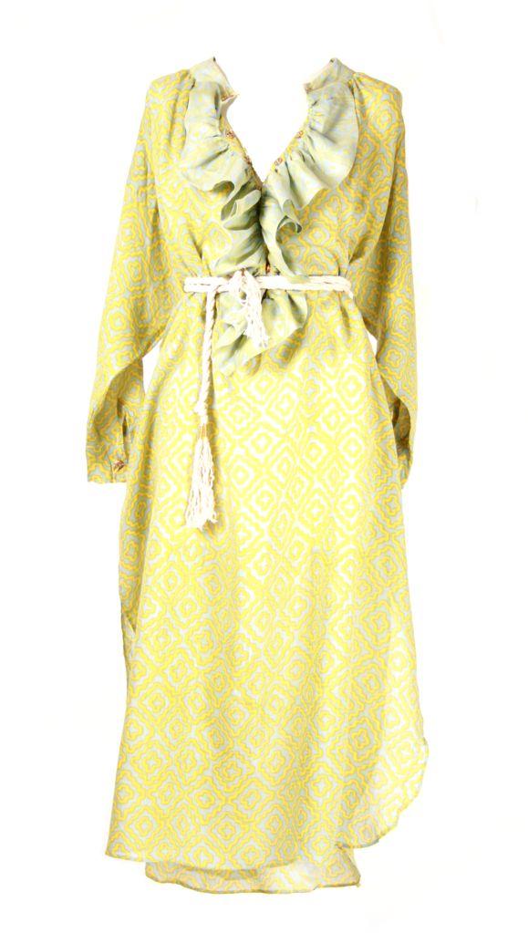 Dress Ruffle Lime