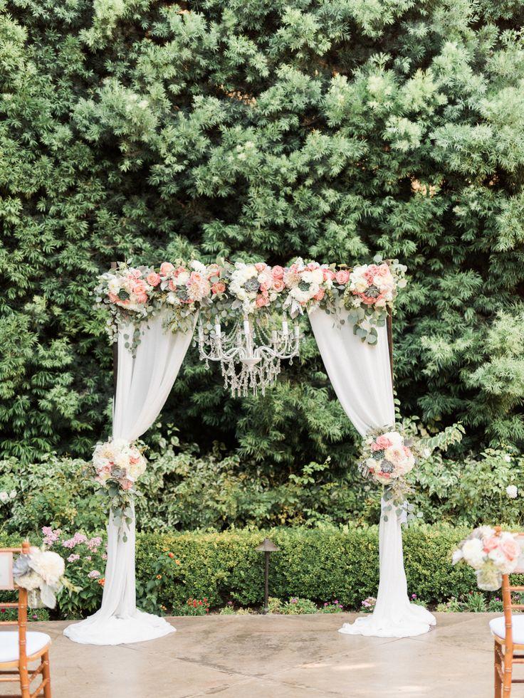 Best 25+ Wedding ceremony arch ideas on Pinterest | Outdoor ...