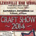 Lewisville High School Spring Craft Show | April 2015