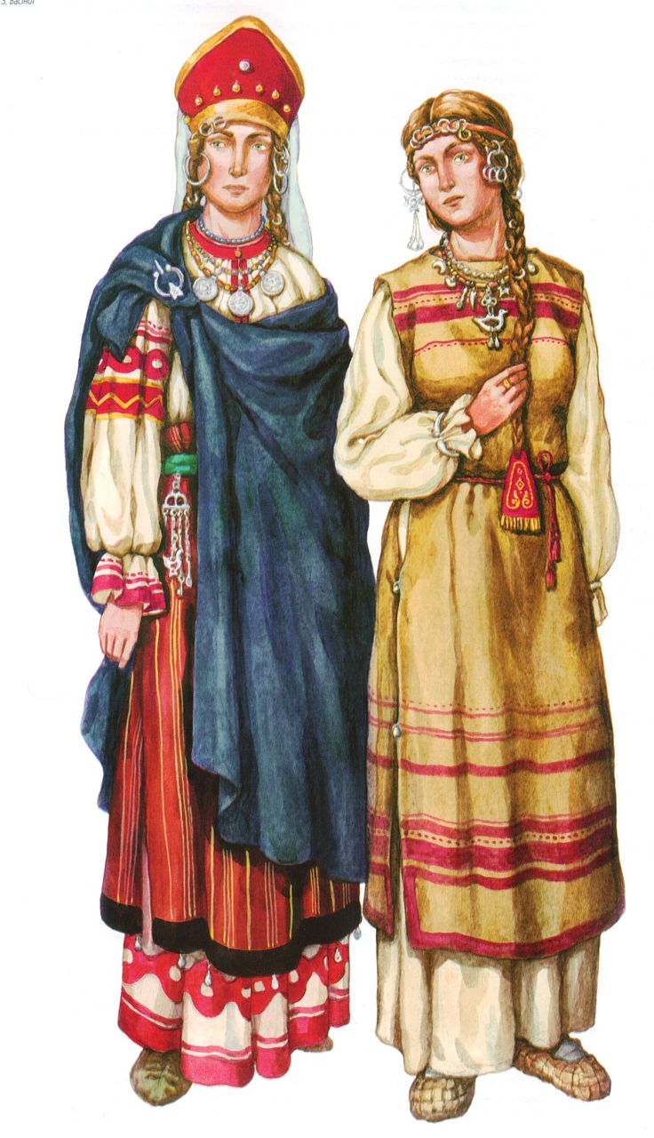 Volhynians and Drevlyans (East Slavic tribes in nowadays Ukraine)