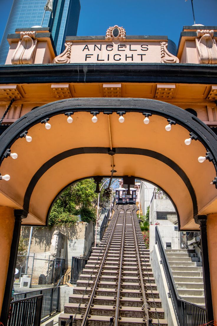 Angels Flight LA - one of the best things to see & do in Downtown Los Angeles, California