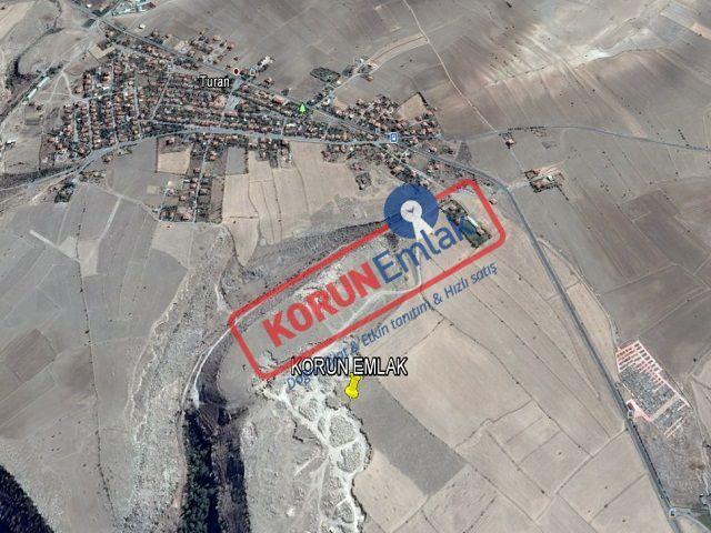 Kayseri Gesi Turan Satılık Arsa 1000 m² lik Alana Sahip Villa Parseli