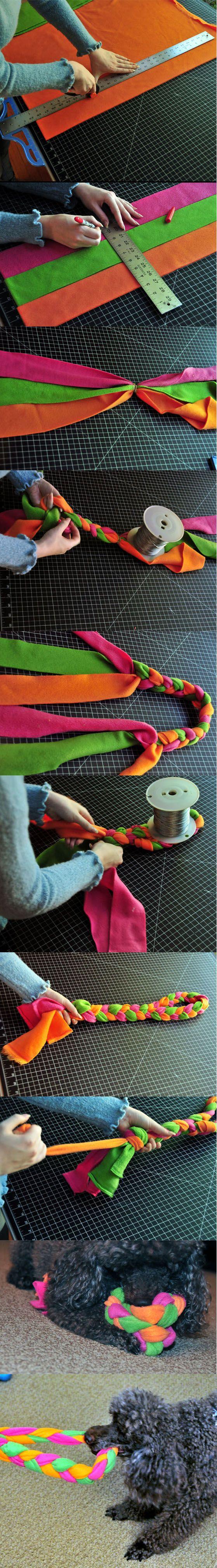 tela-juguete-mascota-muy-ingenioso-diy-1                                                                                                                                                                                 Más