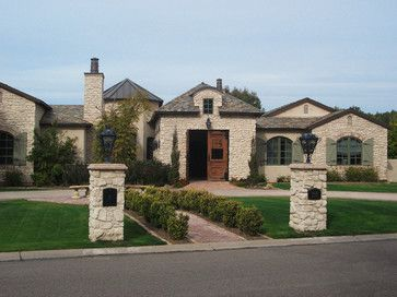 Coronado Stone Products - Van Winkle Project - mediterranean - Exterior - Phoenix - Coronado Stone Products with our Arch column mailbox.