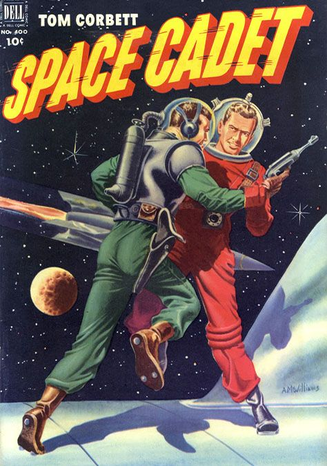 Tom Corbett Space Cadet (1952), cover by Alden McWilliams