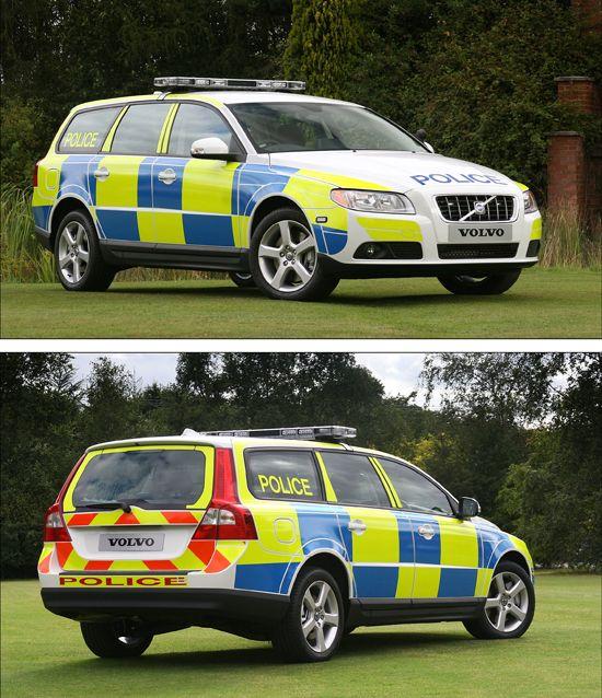 ◆Volvo V70 Police Car◆