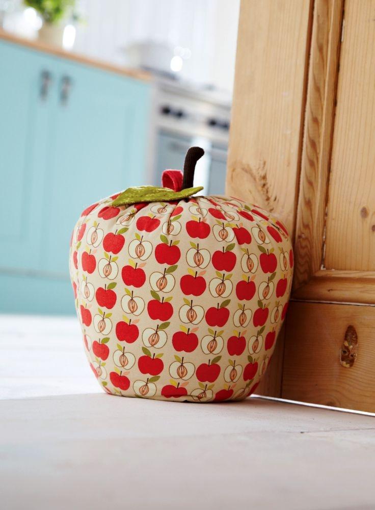 Image detail for -Apple Door Stop - Fabric Door Stops | Home Accessories | Contemporary ...