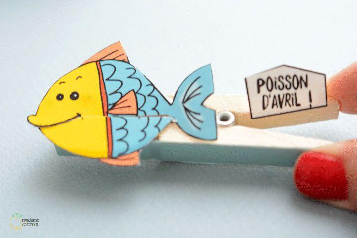 poisson d avril (modèles à imprimer et tuto)