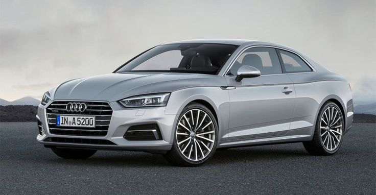 The new 2018-2019 Audi A5 – 2 generation coupe