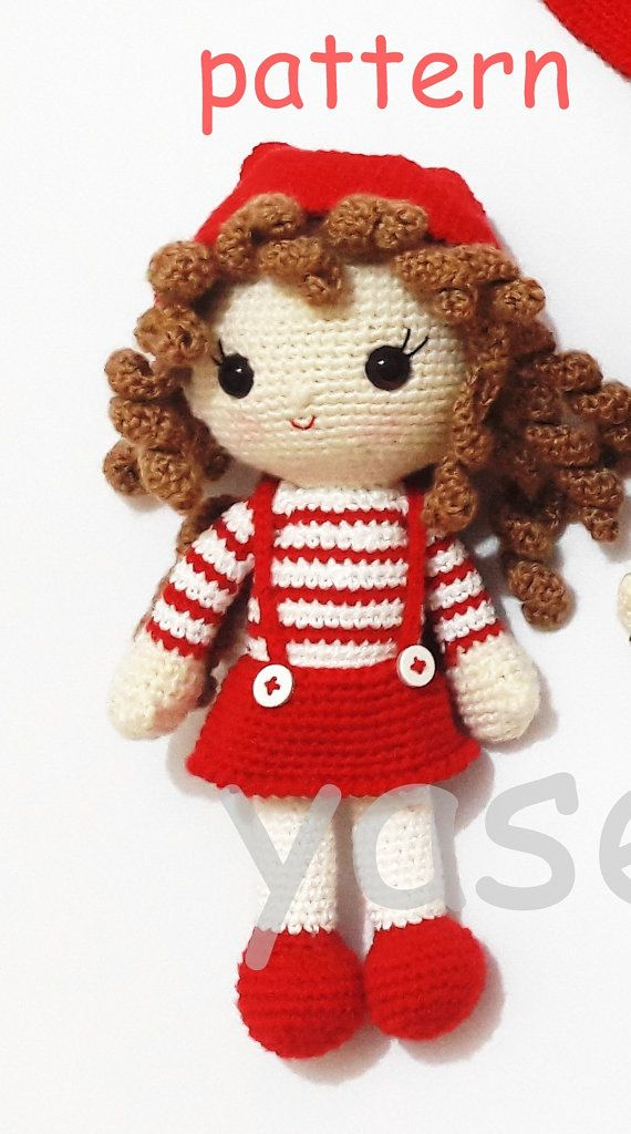 Hey, I found this really awesome Etsy listing at https://www.etsy.com/listing/454477872/amigurumi-christmas-doll-pattern