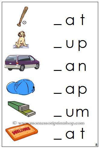 16 best Montessori Step 1 Language Series images on Pinterest