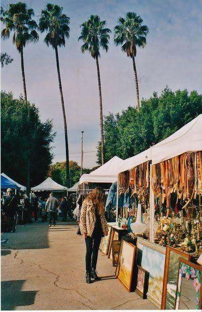 Fairfax Flea Market, Los Angeles #californiadreaming