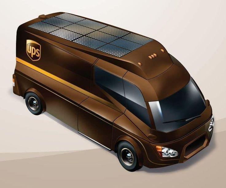 LinkedIn Wasserstoff-Elektro Fahrzeug mit Solarpanels