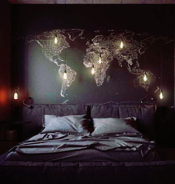 Top 50 Best Black Bedroom Design Ideas – Dark Interior Walls