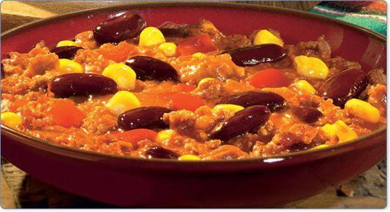 Chili com Carne - http://www.receitasparatodososgostos.net/2016/03/20/chili-com-carne/