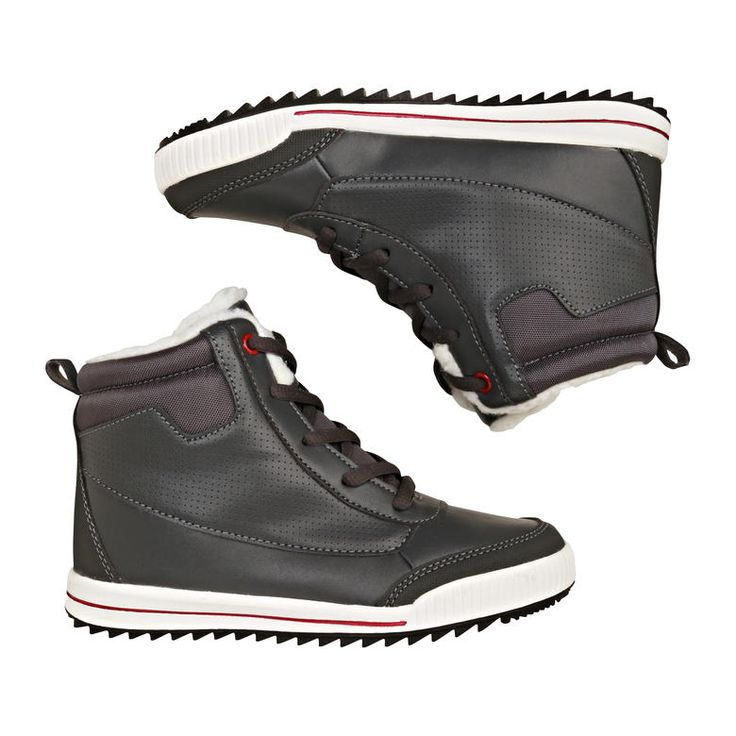 Kid Boys' Lace up Winter Sneakers from Joe Fresh. Boots meet sneakers to create the best of both worlds. Only $26.