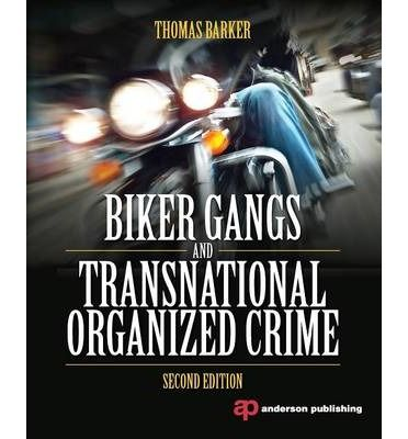 "Biker Gangs and Transnational Organized Crime Biker Gangs and Transnational Organized Crime, Second Edition, describes and analyzes a rapidly expanding global problem: criminal acts committed by motorcycle gangs. Thomas Barker, one of the world's top experts on outlaw biker gangs, offers fascinating details about the Bandidos, the Vagos, the Mongols, and other ""one percenters"""