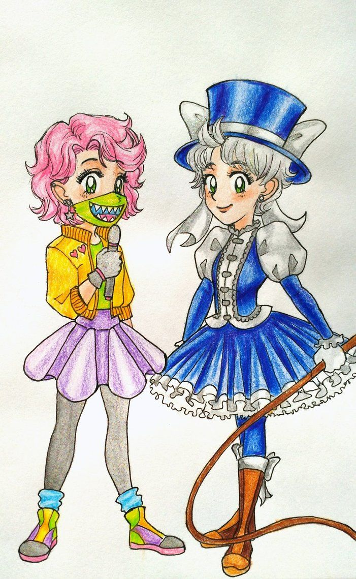 Magic Girls! by LOZ-Elisrilianfan.deviantart.com on @DeviantArt ~ SAILOR MOON STYLE COLORED!! I wasn't able to get the cool sparkle effect, oh well