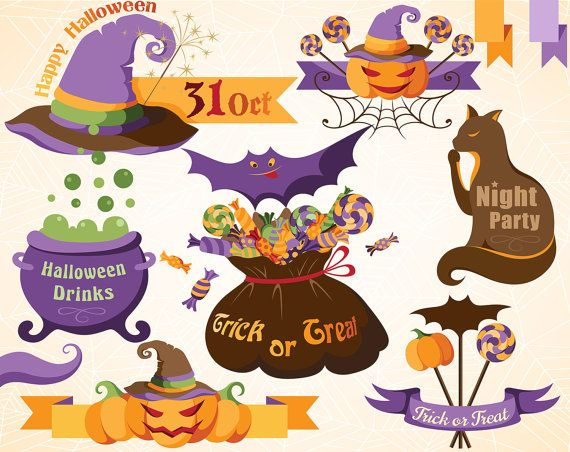 halloween clipart invitations - photo #42