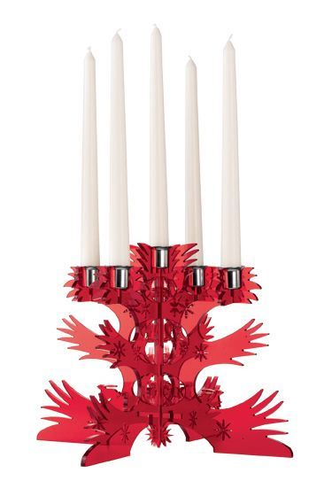 Laser cut candlestick Collections, Studio Tord Boontje.