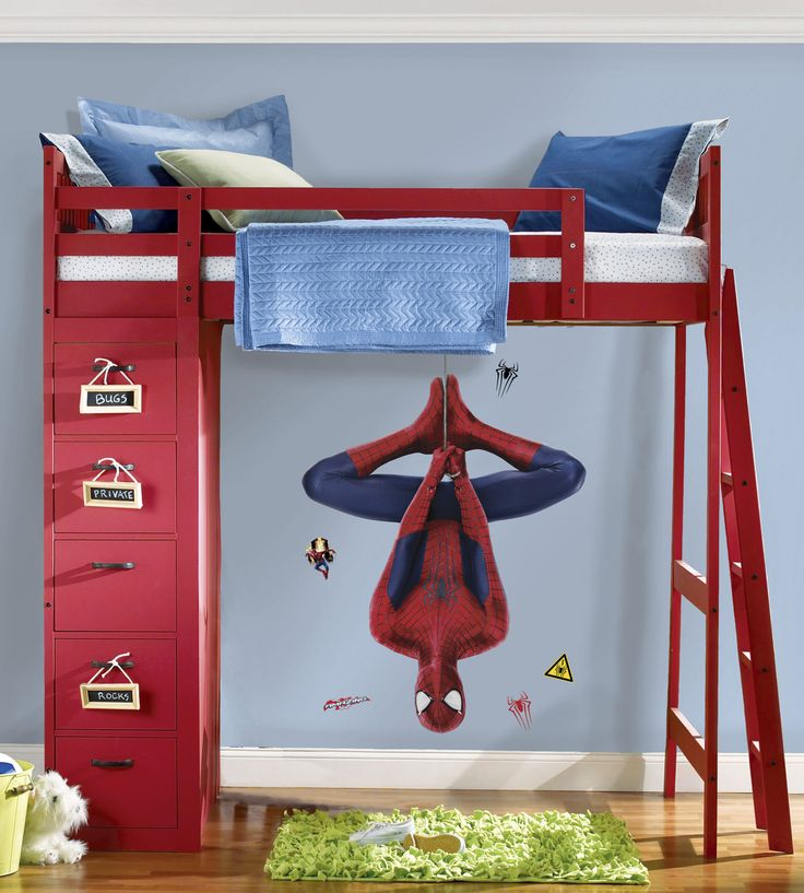 RoomMates The Amazing Spider Man 2 Web Slinging Peel And Stick Giant Wall  Decals @ NiftyWareHouse