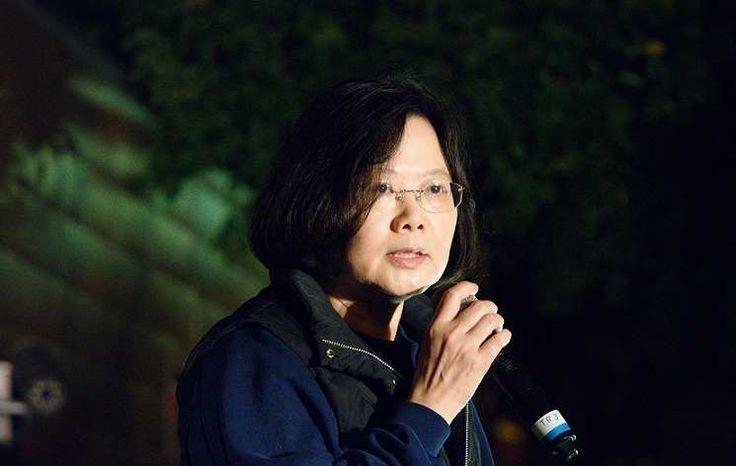 Tsai Ing Wen Presiden Perempuan Pertama Taiwan setelah mendapatkan suara terbanyak dan Eric Chu mengakui kekalahannya dan berhenti sebagai kepala KMT.