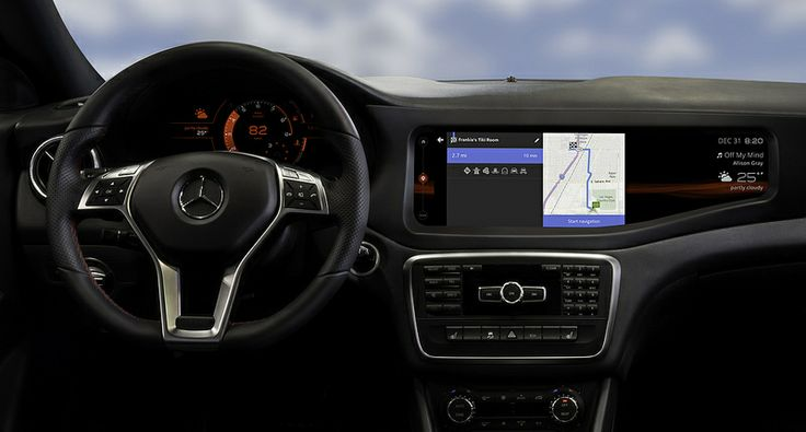 QNX_concept_car_Mercedes_CLA45_HERE_navigation