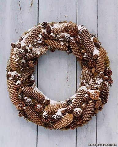 caractériELLE: Dix couronnes de Noël à faire soi même..                                                                                                                                                                                 Plus
