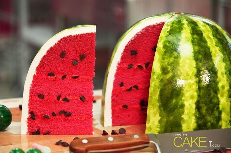 De+beste+watermeloen-cake+die+je+ooit+gaat+zien