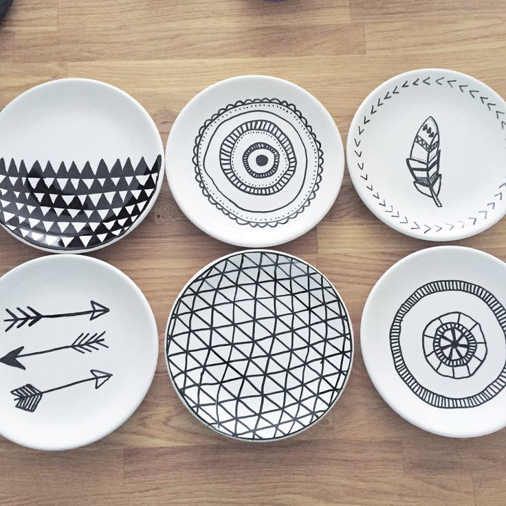 Best 25 Sharpie Plates Ideas On Pinterest Painted