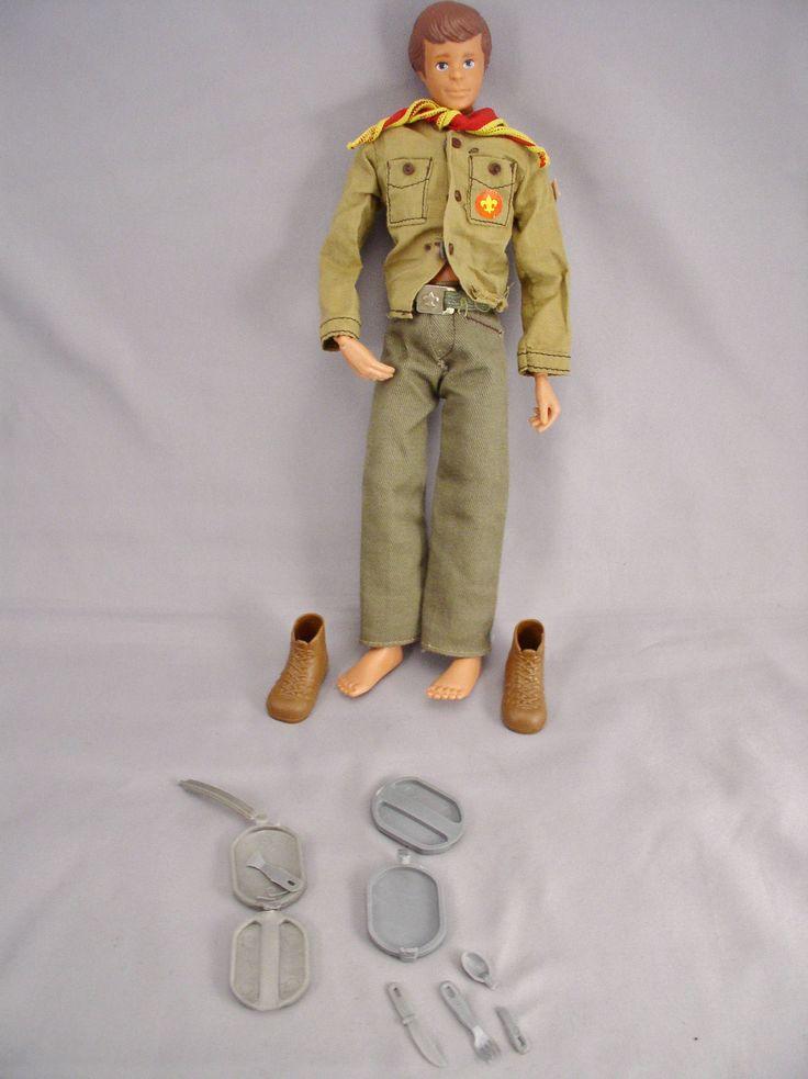 Vintage 1974 Kenner STEVE SCOUT Boy Scout Action Figure - Vintage Toy by SMNtoys on Etsy