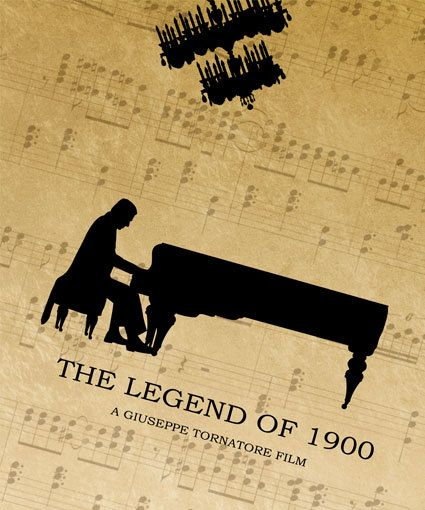 The Legend of 1900 Minimalist Movie Poster by SuddenGravityPosters