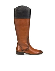 one of my obsessions this fall, two tone boots