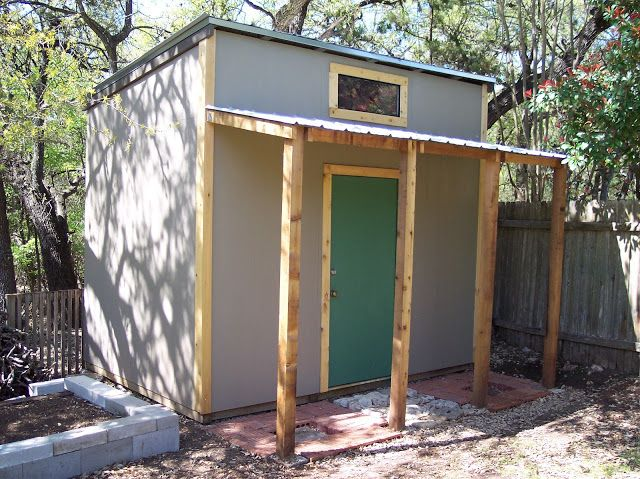 texas style shed project