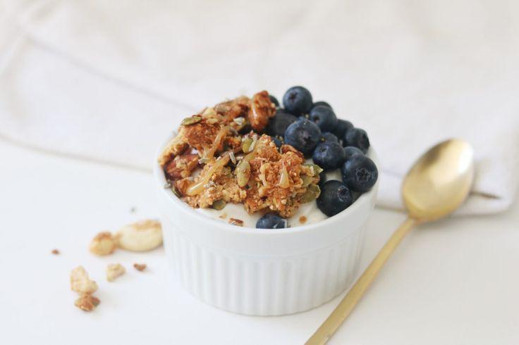 Grain-Free Lavender Honey Granola - #grain #granola #honey #lavender - #new - #g