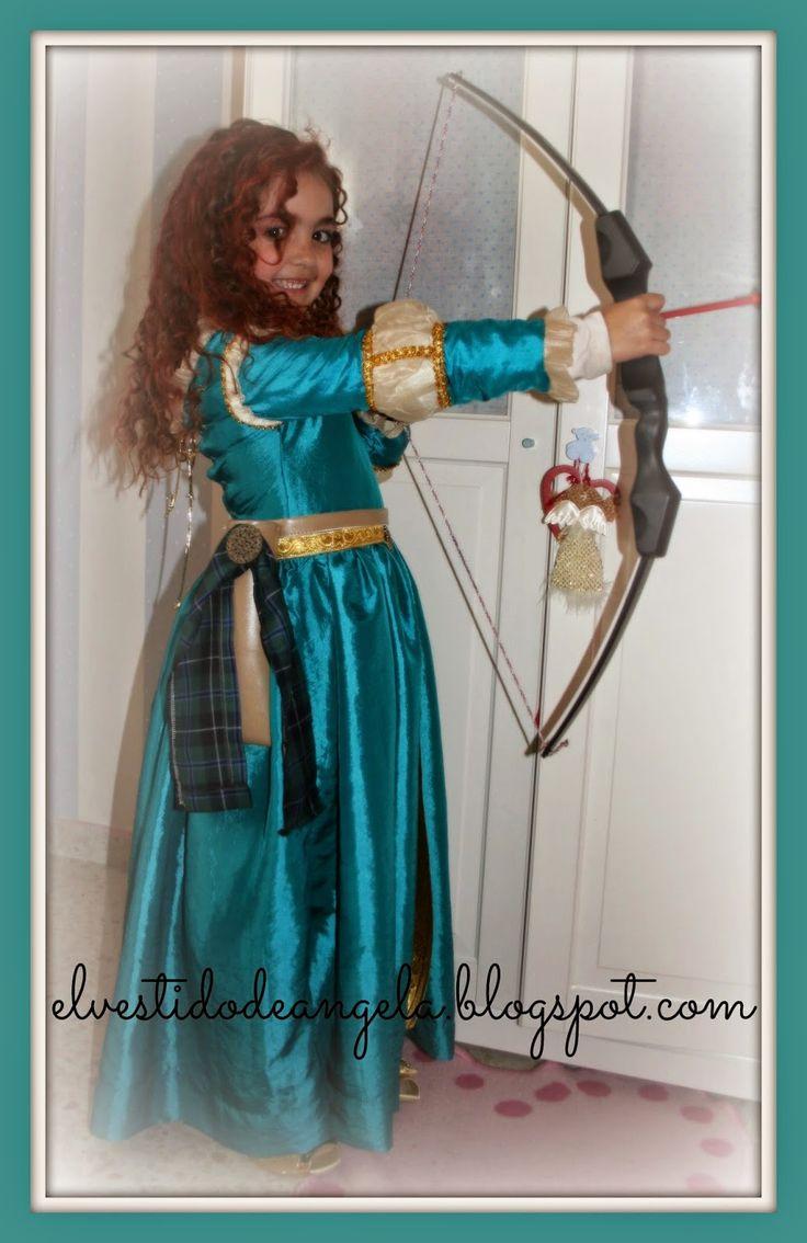 EL VESTIDO DE ÁNGELA: Mérida la princesa valiente