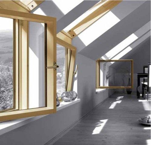 Die besten 25+ Fakro dachfenster Ideen auf Pinterest baue ein - dachfenster balkon cabrio interieur