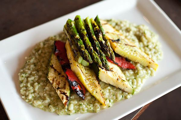 Grilled Summer Vegetables- a perfect and light lunch from The French Hen on Brookside Tulsa, Oklahoma as seen on tulsafood.com