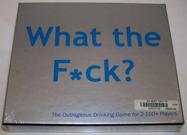 What The F_ck The Outrageous Drinking Game For 2-100 Players Over 400 Questions #KheperGames