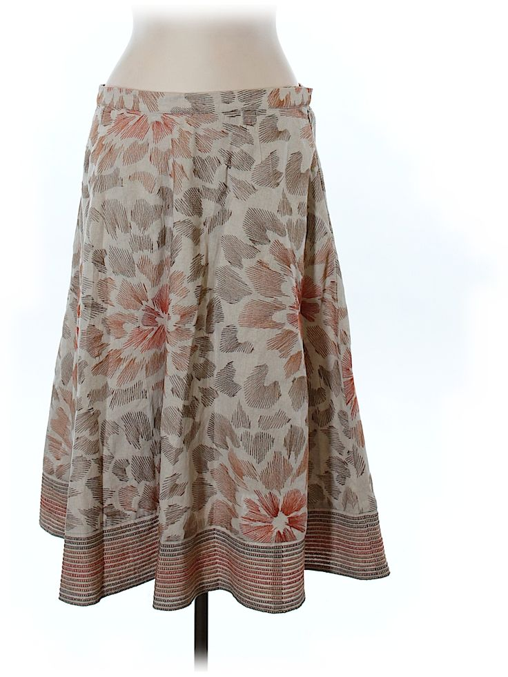 Coldwater Creek Women Casual Skirt Size L (Petite)