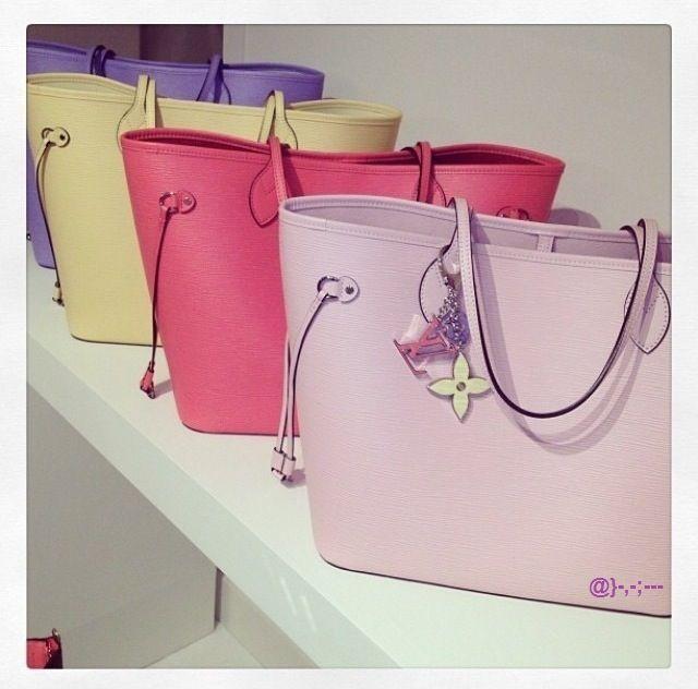 New Louis Vuitton 2014 Pastel Collection! ~ Colette Le Mason @}-,-;---