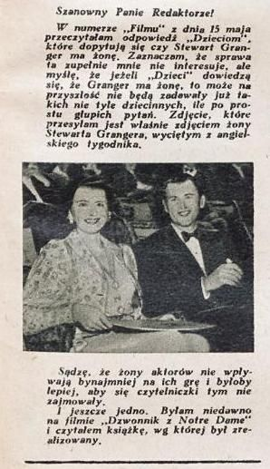 List do redakcji. Nr. 12/1949