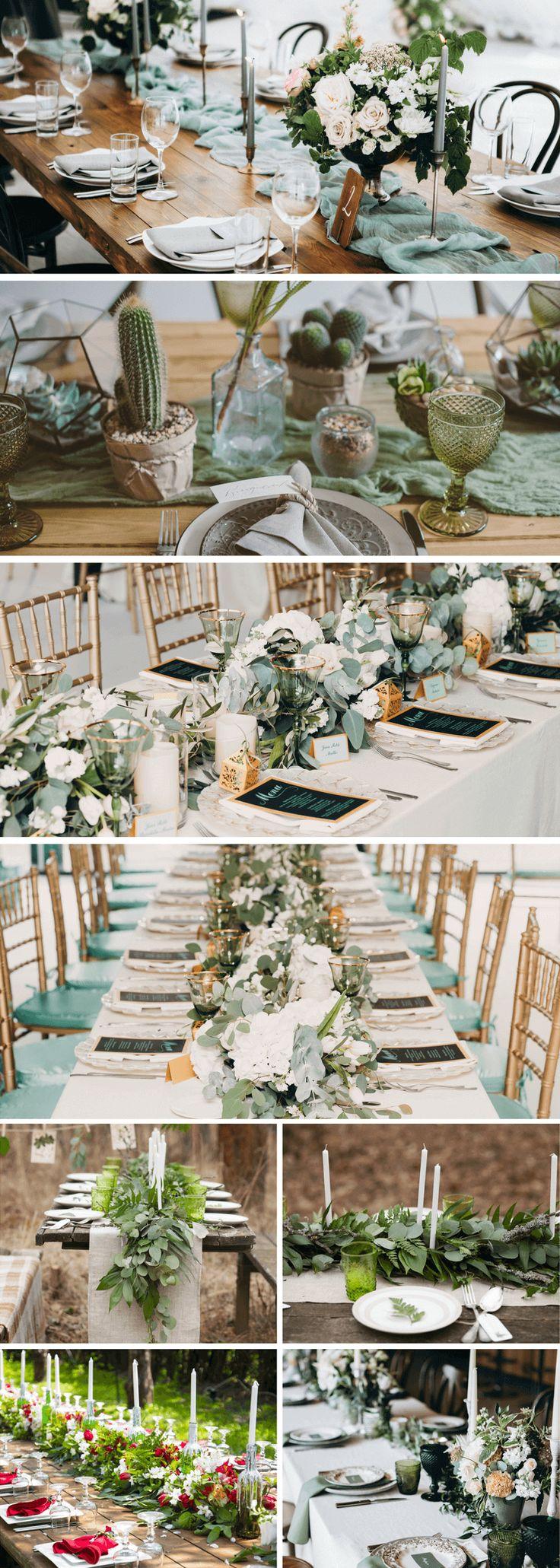 55 bezaubernde Tischdeko-Inspirationen für die Hochzeit