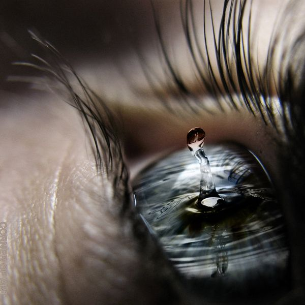 Eye Don't Cry - 35 Emotional Eye Pictures  <3 <3