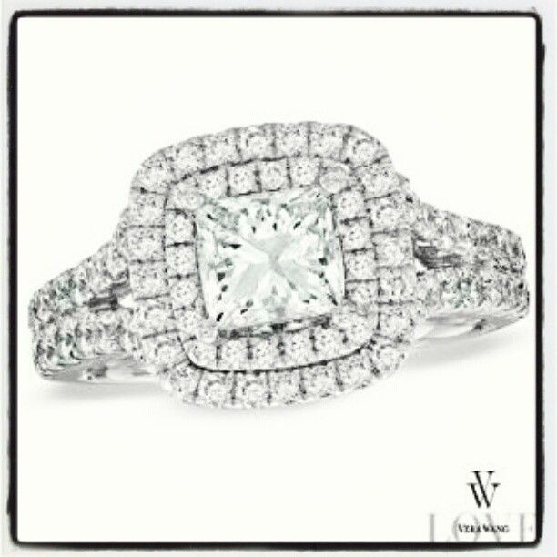 17 best my new wedding rings images on Pinterest Vera wang